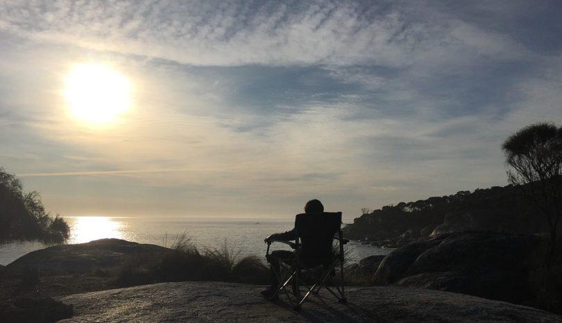 Camping On East Coast Of Tasmania